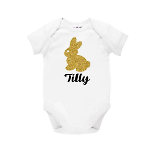 Personalised easter bunny bodysuit my 1st easter easter gift baby image is loading personalised easter bunny bodysuit my 1st easter easter negle Image collections