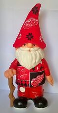 "Detroit Red Wings NHL Ugly Sweater Jersey Hat Team 12"" Gnome"