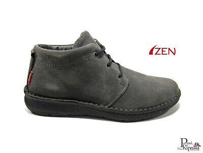 Scarpe polacchine da uomo invernali casual in camoscio con lacci basse Zen grey   eBay