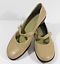 EASY-SPIRIT-Sz-9-1-2-Tan-Beige-LEATHER-MARY-JANE-SHOES thumbnail 1