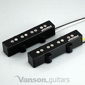 NEW-Wilkinson-WJB-AlNiCo-Neck-amp-Bridge-Bass-Pickups-for-039-JB-039-type-guitars-Jazz