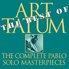 The Best of the Pablo Solo Masterpieces by Art Tatum (CD, Nov-2003, Pablo)