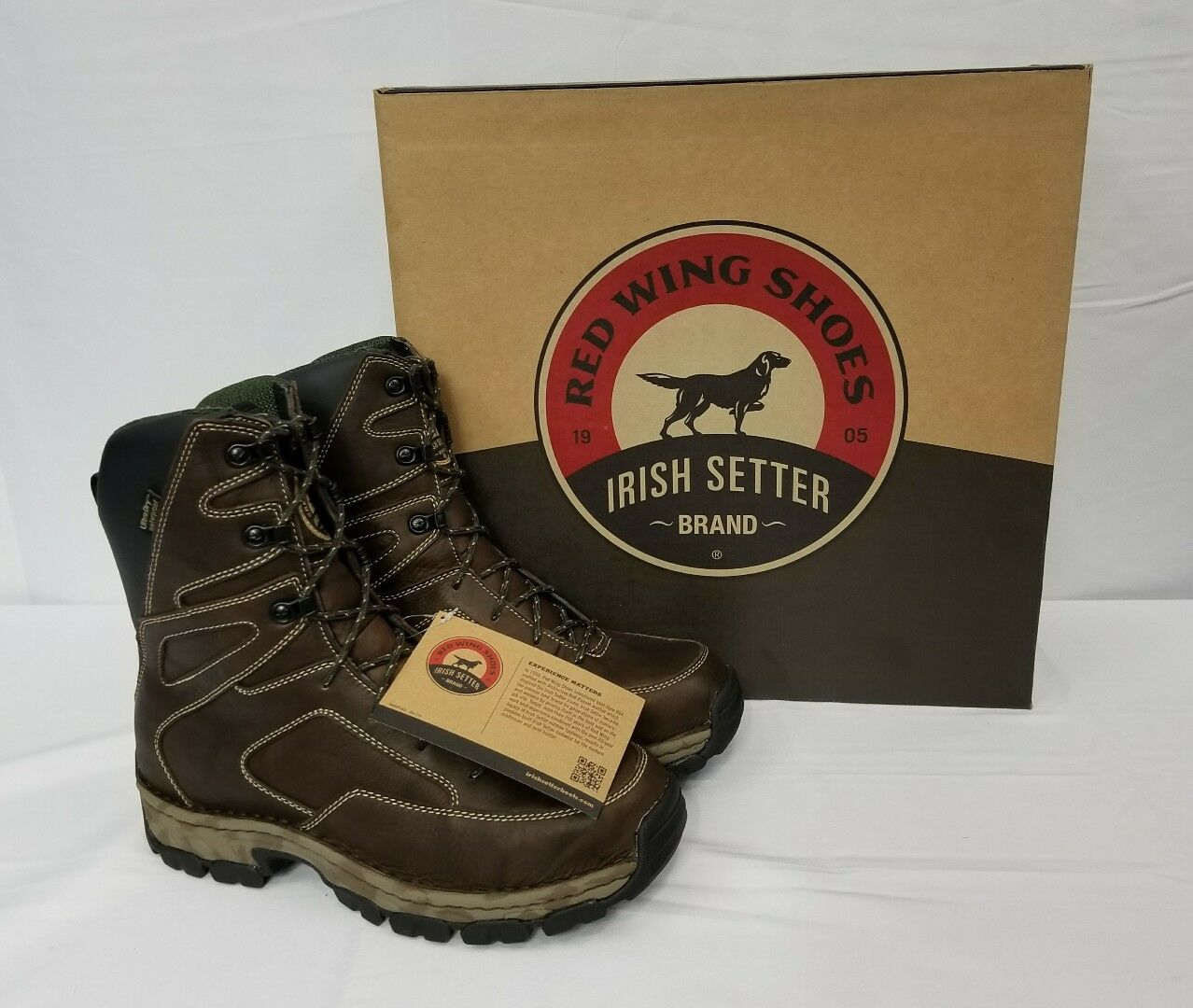Red Wing Shoes Irish Setter Havoc XT 810 hunting boots.  Men's size 9 W