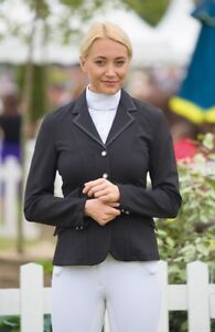 SALE-Ladies-Horse-Riding-Show-Jacket-Black-Size-34-034-was-94-99-by-Shires