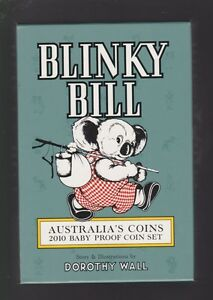 2010-Royal-Australian-Mint-BABY-PROOF-Set-Year-Birthday-Gift-Blinky-Bill-Series