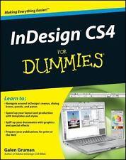 InDesign CS4 For Dummies by Gruman, Galen, Good Book