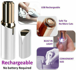 Flawless-Face-Facial-Finishing-Touch-Skin-Women-Painless-Hair-Remover-USB-Charge