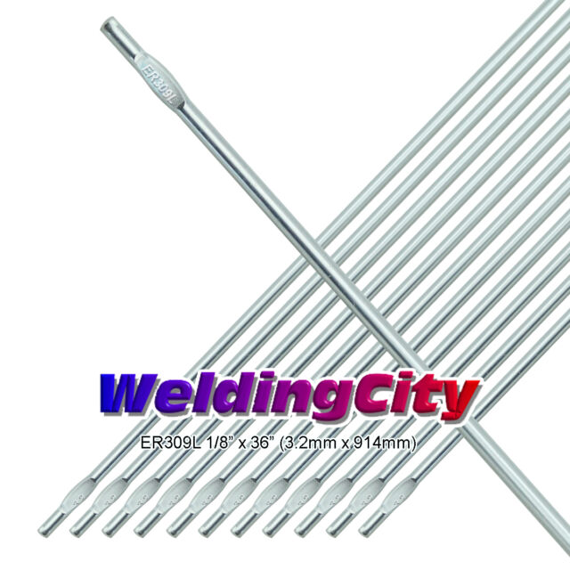 "ER309L 1//8/"" x 36/"" 1-Lb Stainless Steel TIG Welding Filler Rod 1//8 x 1 lb"
