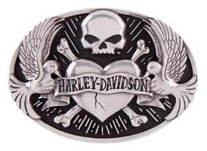 Harley-davidson Femmes Sculpté Tattoo Boucle De Ceinture, Argent Antique Hdwbu 11408-n Women's Sculpted Tattoo Belt Buckle, Antique Silver Hdwbu11408 Fr-fr Afficher Le Titre D'origine Bon GoûT