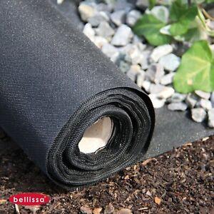 Weed-Fleece-135m-Horticultural-Ground-Fabric-Mulchvlies-Bark-Mulch-50g-M