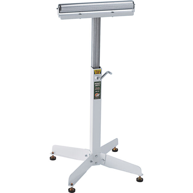 HTC Heavy Duty Adjustable Pedestal Roller Material Support Stand