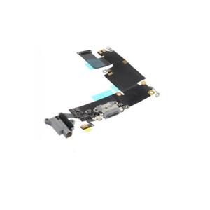 Flex-Flat-Dock-Connecteur-Recharge-Micro-Jack-pour-Apple-IPHONE-6-Plus-Noir