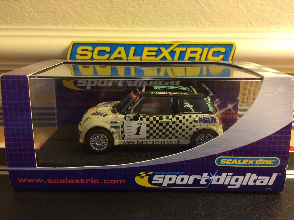 Scalextric Digital Mini Cooper S   X-Nrgdrink No1 C2564D Mint Boxed With Lights