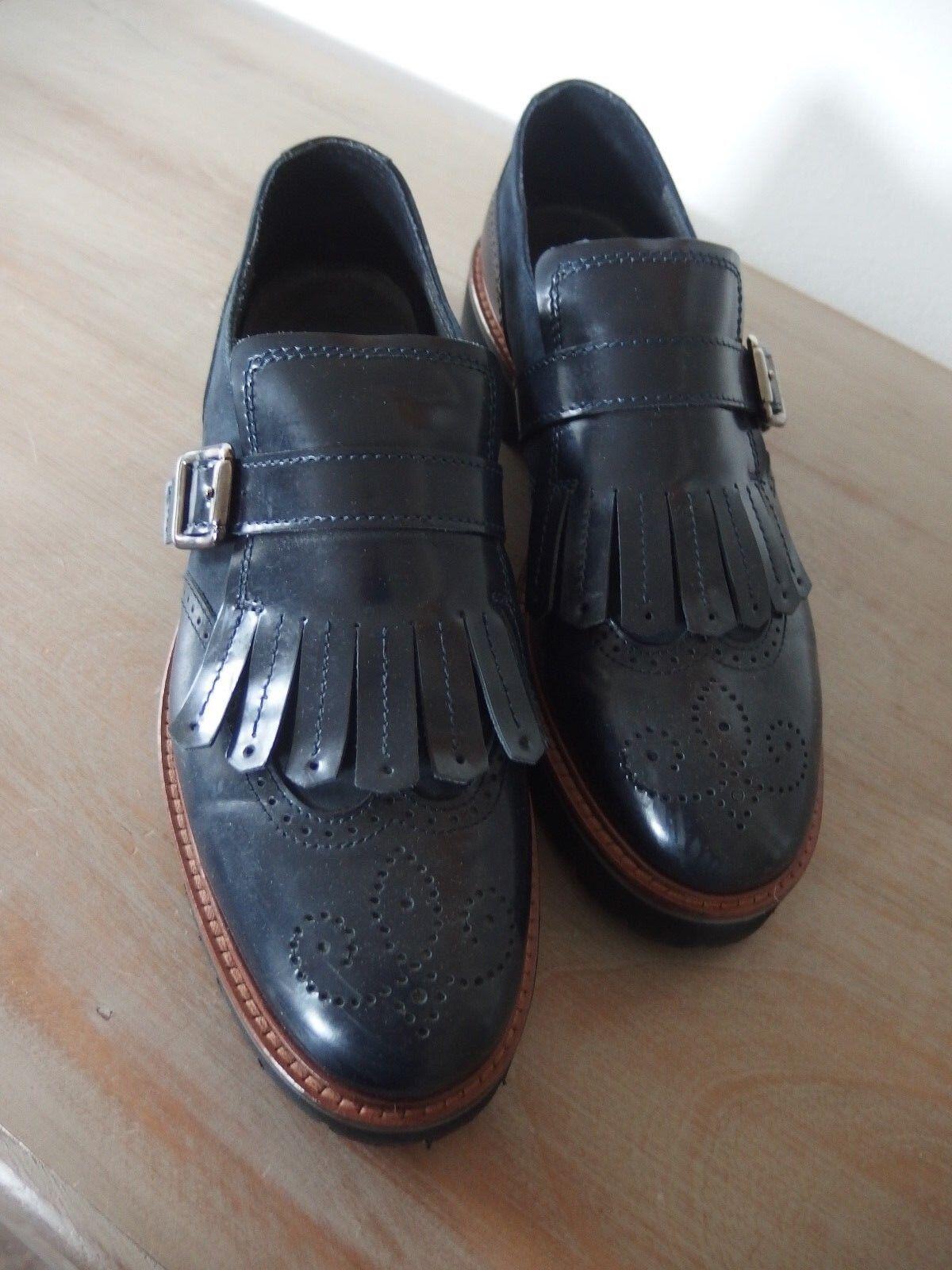 Maripé Damen Schuhe 38,5 Slipper Halbschuh Gr. 38,5 Schuhe blau ***neuwertig*** 948adb