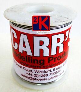 Carr's C2002 Low Melt 0.5kg Reel 145 Deg. Detailing Solder for Brass Etc