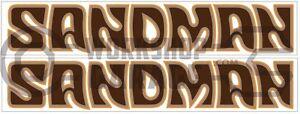 Holden-HX-HZ-02-SANDMAN-Brown-Stickers