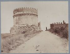 PHOTO ancienne 190713 - ITALIE - ROME - tour ruines antiques