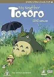 Studio Ghibli's My Neighbour Totoro  Region 4 DVD, As New Free Postage