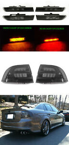 6pcs smoke tail amber red front rear side marker lights for 2004 rh ebay com 1998 Acura CL Interior 1998 Acura CL 3.0 MPG