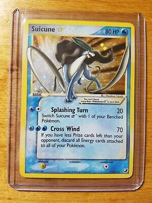 Suicune GOLD STAR Holo Pokemon Card Ultra Rare 115/115 | eBay
