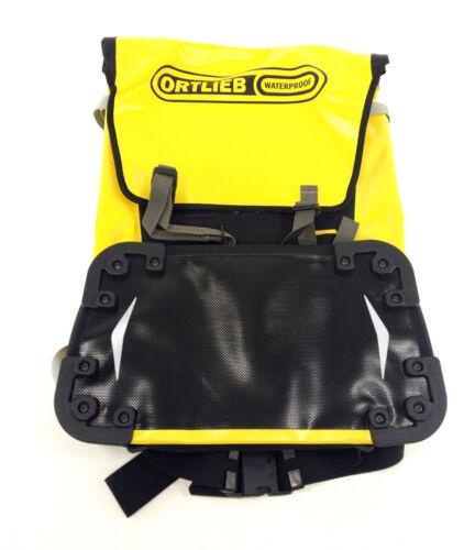 Ortlieb Waterproof Bicycle Messenger Bag XL Backpack 60L Yellow//Black