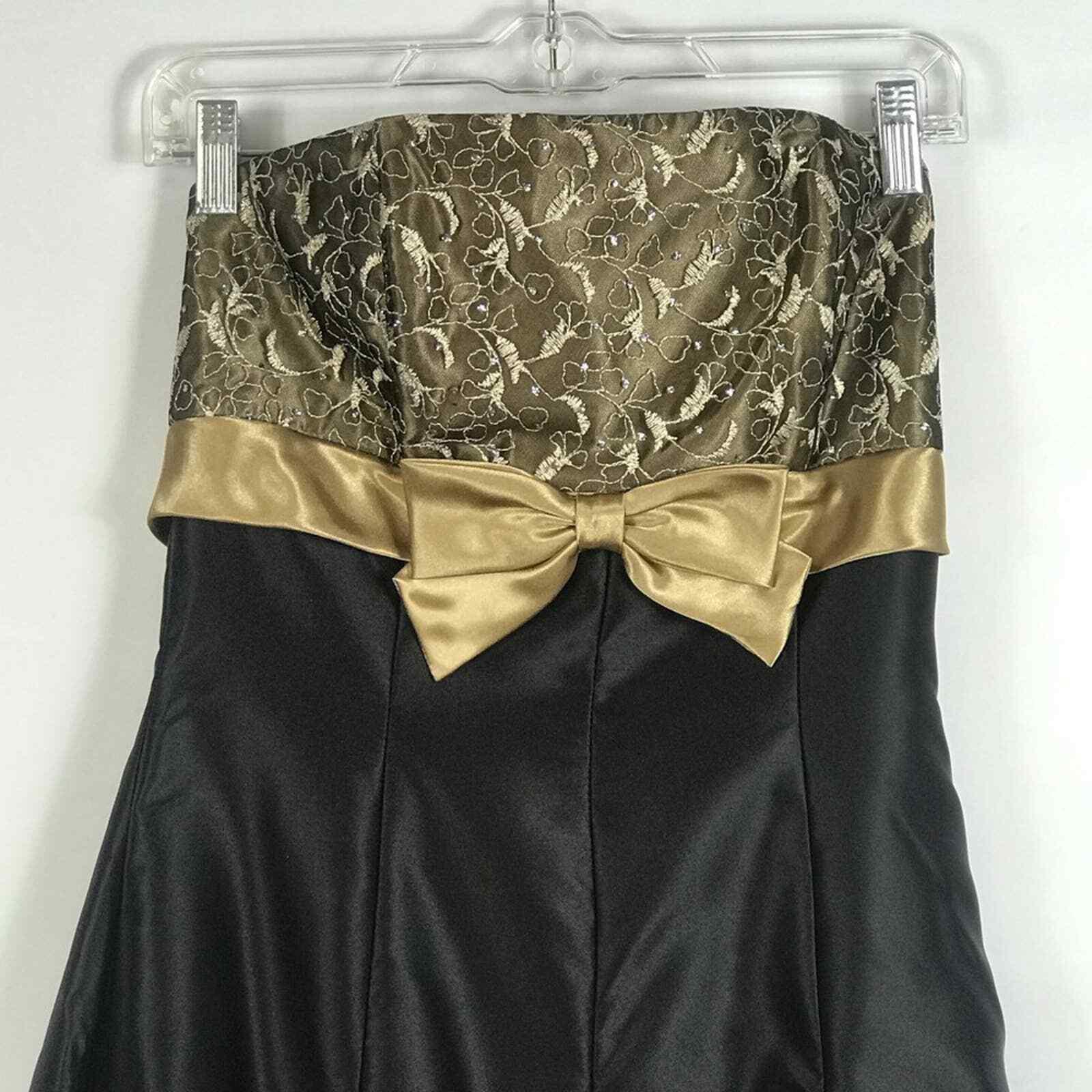 Jessica McClintock Gunne Sax Formal Prom Dress Si… - image 2