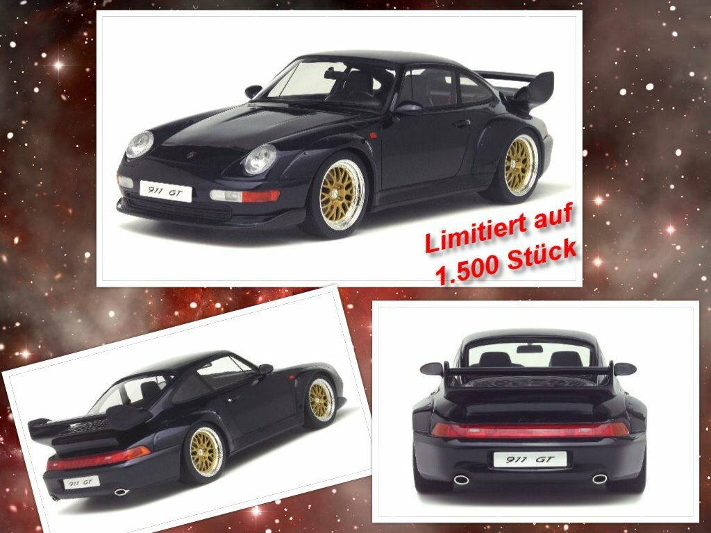 Porsche 911 (type 993) GT limitée 1.500 Pièces GT SPIRIT 1 18