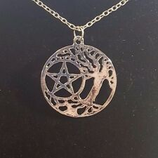 Supernatural - Pentacle and the Tree of LIfe Necklace -  Fast Shipping!