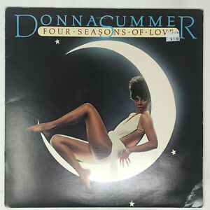 Donna-Summer-Four-Seasons-Of-Love-LP-Vinyl-Record-First-Pressing-Disco-1976