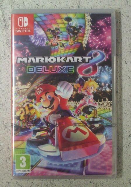 Nintendo SWITCH MARIO KART 8 DELUXE New Sealed