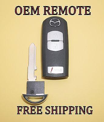 WAZX1T768SKE11A03 3-Button EXCELLENT! OEM MAZDA SMART KEY REMOTE FOB FCC