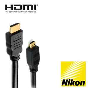 USB cable and HDMI cable for Nikon COOLPIX S9700