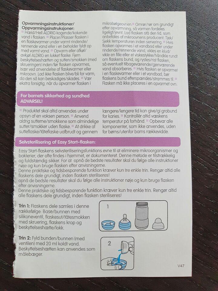 Sutteflaske, MAM easy start anti-kolik, 260 ml
