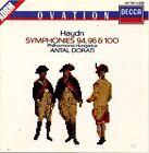 CD - HAYDN / Symphonies 94,96 & 100 / ANTAL DORATI