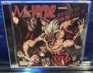 Mr. HYDE - If it bleeds we can kill it CD necro horrorcore plr horrorcore rap