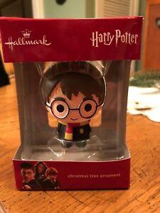 Harry-Potter-Wizard-Kid-Toddler-Hallmark-Christmas-Tree-Ornament-NEW-Warner-Bros