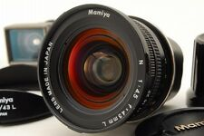 【Exc+++】 Mamiya N 43mm f/4.5 L Lens with Finder for Mamiya7 7II from Japan 0196N