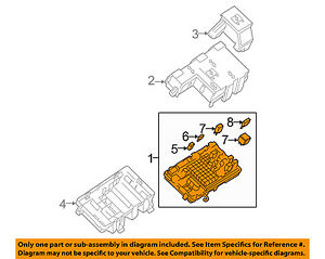 details about gm oem electrical fuse relay junction block 25888290 hot rod fuse panel fuse gm box 25888290 #1