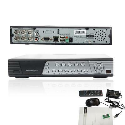4CH Channel Full D1 h.264 Standalone DVR Network CCTV Security Camera System