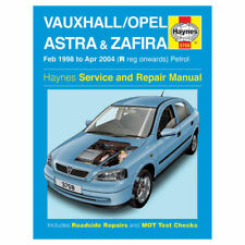 Haynes workshop manual 3758 vauxhall opel astra zafira 1998 2004.