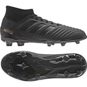 adidas Unisex Predator 19.3 Laceless Junior FG Football Boots Soccer Shoes