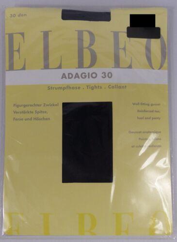 Taille 1//2//3//4//5//6 ELBEO ADAGIO 30 Collant mat 30den coloris au choix