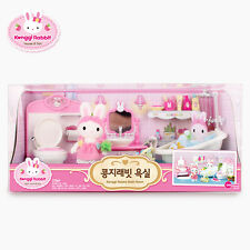Konggi Rabbit Korean Bathroom Shower Kids Cute Couple Family Baby Doll Toy