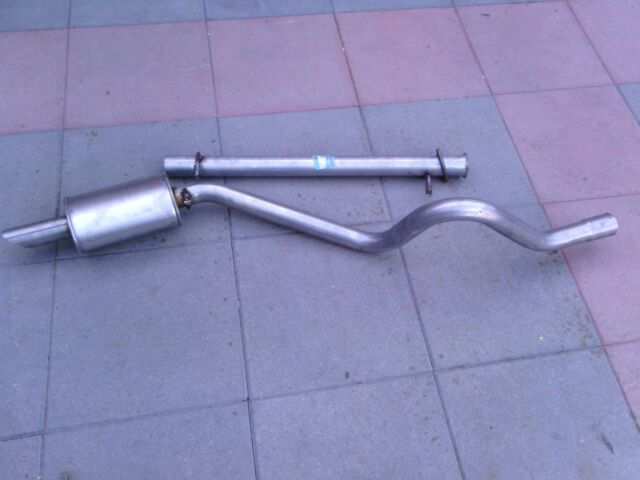 LAND ROVER DISCOVERY 300TDI SPORTS EXHAUST STRAIGHT THROUGH CENTER PIPE AND REAR