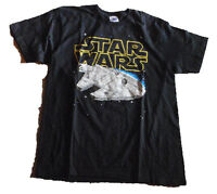 Millenium Falcon 8bit Video Game Pixelated T-shirt Star Wars W/tag Mens Xxl