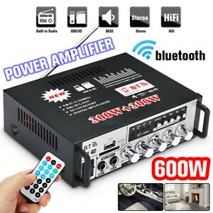 600W-Bluetooth-Endverstaerker-Bass-Stereo-HIFI-Audio-SD-AMP-FM-USB-Car-Home