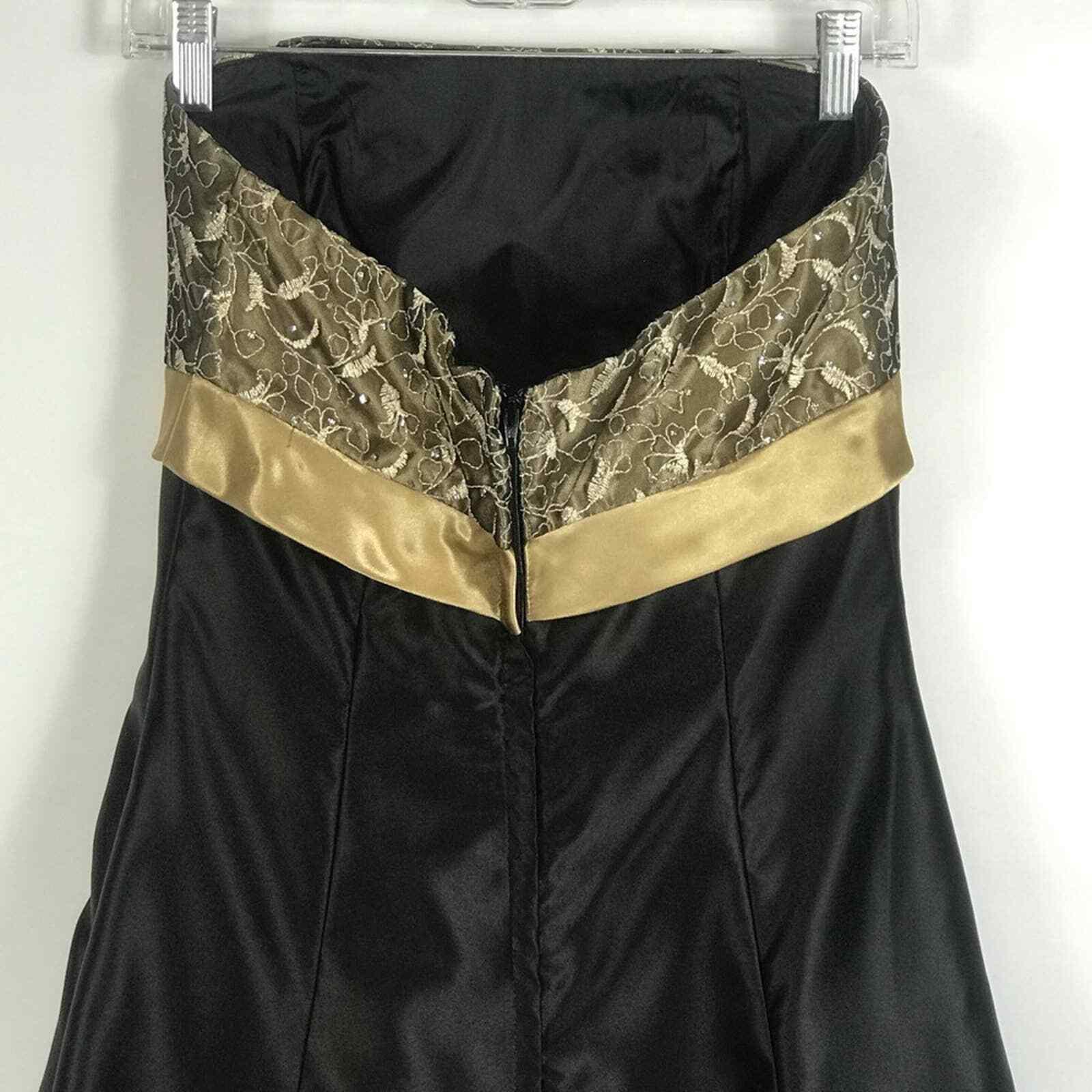 Jessica McClintock Gunne Sax Formal Prom Dress Si… - image 6