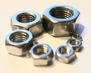 A2-Metric-Metric-Fine-Hex-Nut-Pack-x100-M3-to-M18-Suzuki-GT380