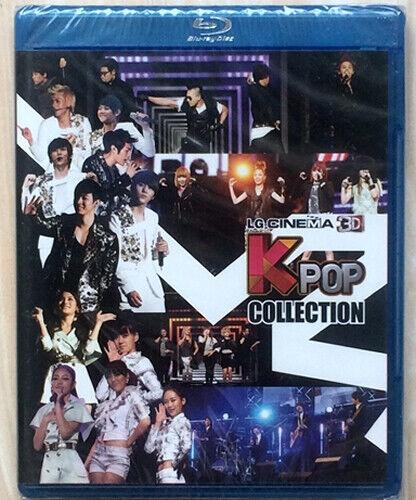 LG KPOP 3D Collection Blu-ray Disc demo video BD promo bluray disk korean new