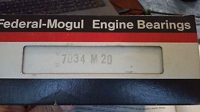 Federal Mogul 7034M Engine Main Bearings Standard 1982-1985 GM 4.3L Diesel